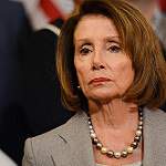 Nancy Pelosi Goes Mano a Mano on the Border Wall